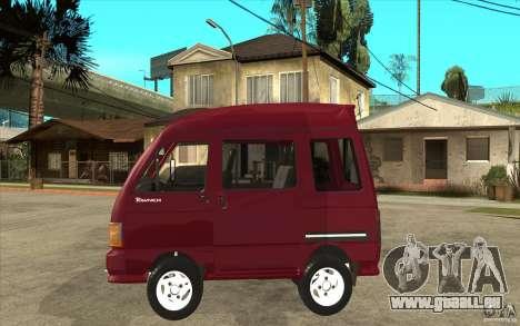 KIA Towner pour GTA San Andreas laissé vue