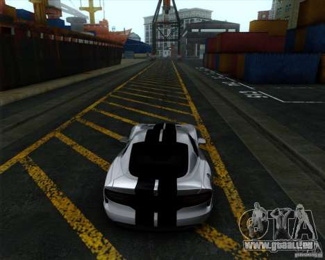 Dodge Viper SRT 2013 für GTA San Andreas zurück linke Ansicht
