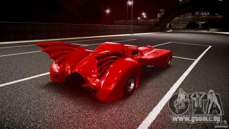 Batmobile Final pour GTA 4 est un côté