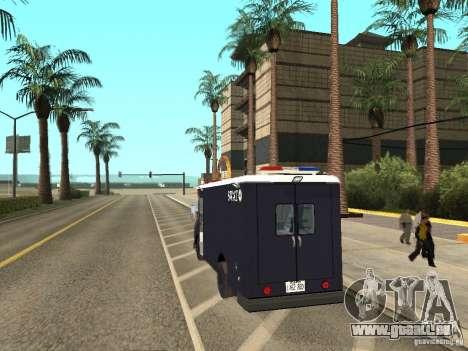 SWAT-Los Angeles für GTA San Andreas linke Ansicht