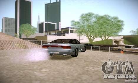 Nissan 240SX 1990 pour GTA San Andreas sur la vue arrière gauche