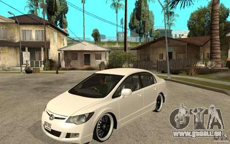 Honda Civic FD pour GTA San Andreas