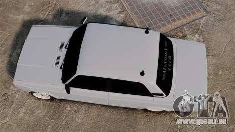 VAZ-2107 Mansory für GTA 4 rechte Ansicht