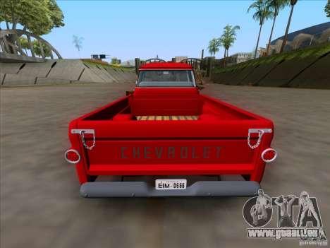 Chevrolet Apache GM 1959 pour GTA San Andreas vue de droite
