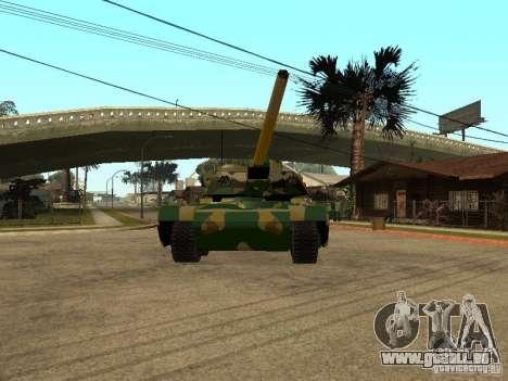 Camouflage pour Rhino pour GTA San Andreas laissé vue
