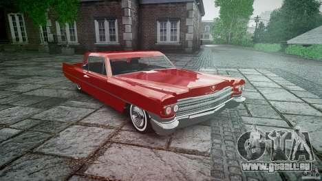 Cadillac De Ville v2 pour GTA 4 Vue arrière