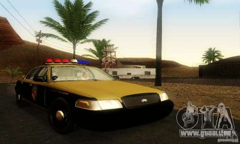 Ford Crown Victoria Maryland Police pour GTA San Andreas