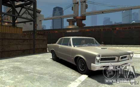 Pontiac GTO v1.1 für GTA 4 Rückansicht