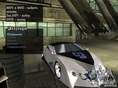 Thunderbold SlapJack für GTA San Andreas Räder