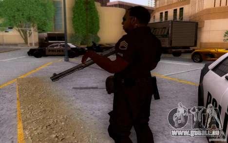 Ein Polizist aus CoD: BO2 für GTA San Andreas her Screenshot
