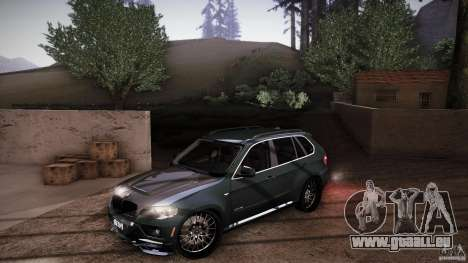 BMW X5 with Wagon BEAM Tuning pour GTA San Andreas roue