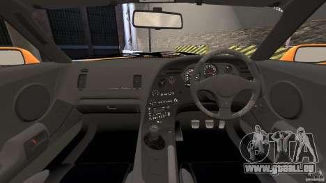 Toyota Supra Tuning pour GTA 4 Vue arrière