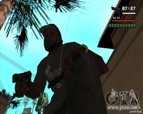 Beretta M92FS HD pour GTA San Andreas