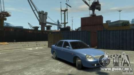 Lada Priora pour GTA 4 Vue arrière de la gauche