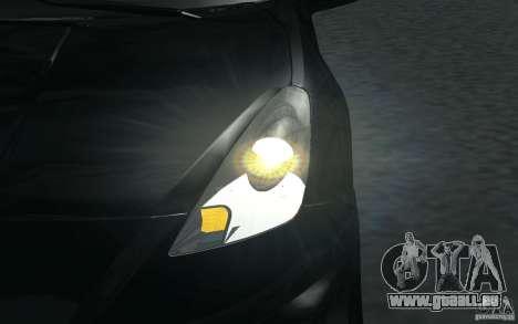 Toyota Celica pour GTA San Andreas salon