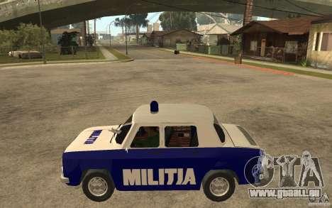Dacia 1100 Militie für GTA San Andreas linke Ansicht