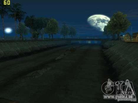 GTA SA IV Los Santos Re-Textured Ciy pour GTA San Andreas quatrième écran