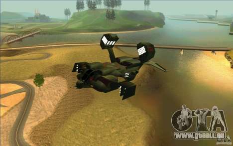 Aliens vs. Predator Marine Drobship pour GTA San Andreas