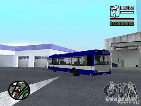 Solaris Urbino 12 für GTA San Andreas zurück linke Ansicht
