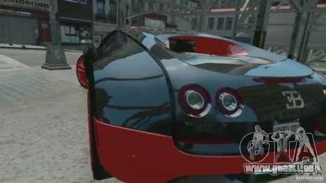 Bugatti Veyron 16.4 Super Sport pour GTA 4 est une gauche
