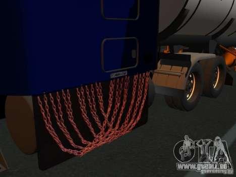 Kenwort T800 Carlile für GTA San Andreas Rückansicht
