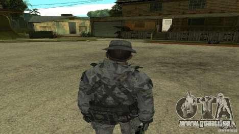 Captain Price für GTA San Andreas dritten Screenshot
