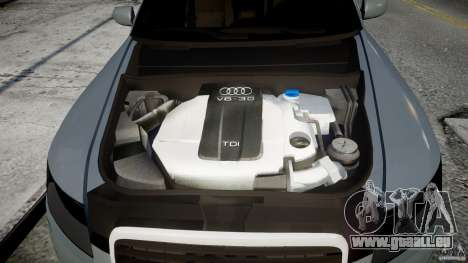 Audi A6 TDI 3.0 für GTA 4 Rückansicht