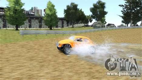Baja Volkswagen Beetle V8 für GTA 4 Rückansicht