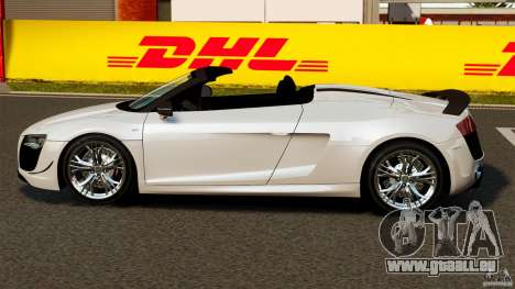 Audi R8 GT Spyder 2012 für GTA 4 linke Ansicht