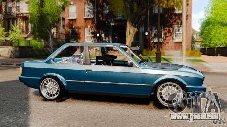 BMW E30 V8 Drift pour GTA 4 est une gauche