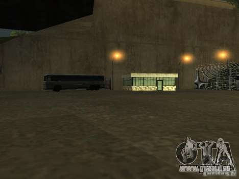Busparkplatz v1. 1 für GTA San Andreas sechsten Screenshot