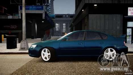 Subaru Legacy B4 GT pour GTA 4 Vue arrière de la gauche