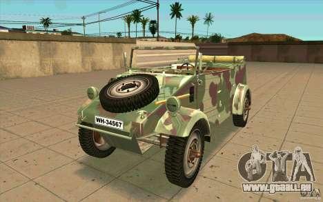 Kuebelwagen pour GTA San Andreas