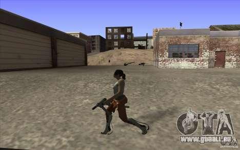 Chell from Portal 2 pour GTA San Andreas quatrième écran
