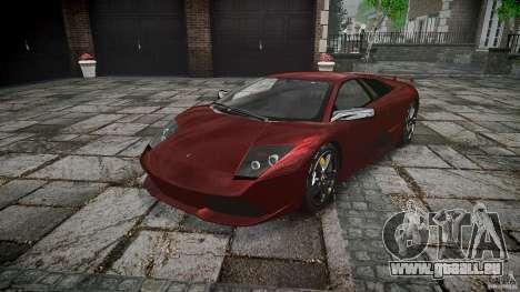 Lamborghini Murcielago v1.0b pour GTA 4 Vue arrière