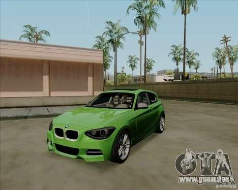 BMW M135i V1.0 2013 für GTA San Andreas linke Ansicht