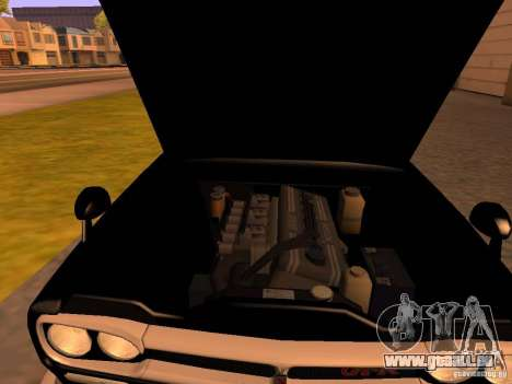 Nissan Skyline 2000GTR pour GTA San Andreas vue arrière