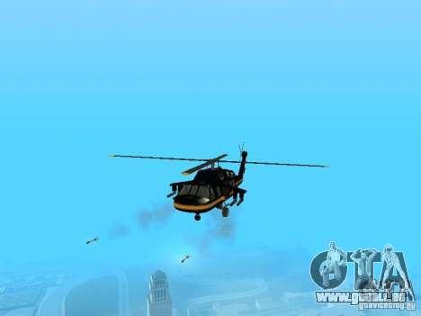 GTA 4 Annihilator entrable pour GTA San Andreas sur la vue arrière gauche
