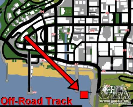 Off-Road Track pour GTA San Andreas cinquième écran