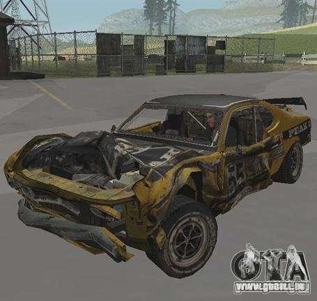 Boxer from FlatOut2 pour GTA San Andreas sur la vue arrière gauche