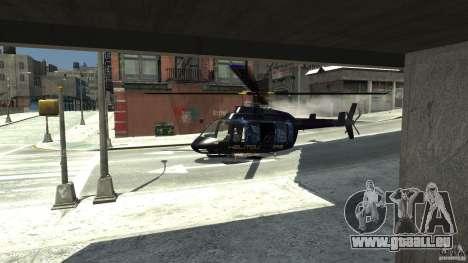 NYC Helitours Texture pour GTA 4 est un droit