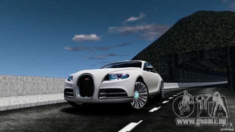Bugatti Galibier 2009 pour GTA 4