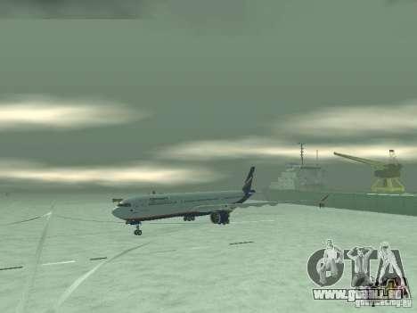 Airbus A330-300 Aeroflot pour GTA San Andreas