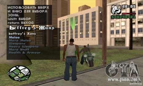 Gun Seller pour GTA San Andreas troisième écran