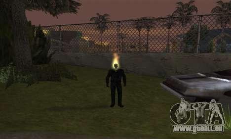 Ghost Rider für GTA San Andreas dritten Screenshot