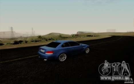 BMW 1M 2011 V3 pour GTA San Andreas vue intérieure