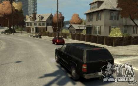 Chevrolet Suburban 2003 FBI für GTA 4 hinten links Ansicht