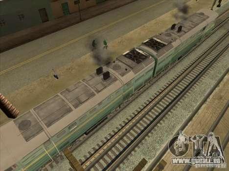 2te10v-3594 für GTA San Andreas Seitenansicht