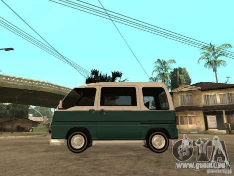 VW T1 Samba pour GTA San Andreas laissé vue