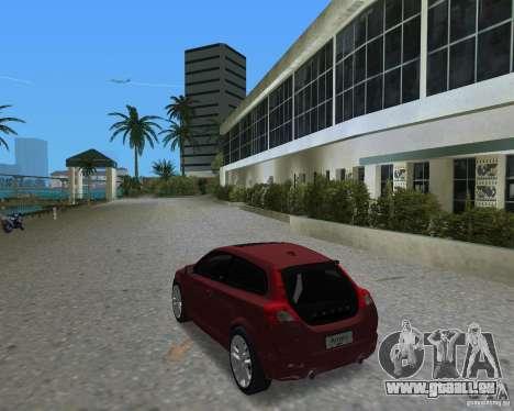 Volvo C30 pour une vue GTA Vice City de la gauche